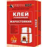 Клей усиленный жаростойкий  5кг Терракот (4)