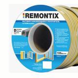Уплотнитель D профиль 9мм*8мм (100 м) Remontix белый 6 Польша