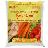 Удобрение Гуми-ОМИ Картофель, Морковь, Редис, Свекла 0,7 кг (20)