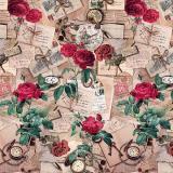122 A клеёнка Dekorama 1,4*20м (розы)