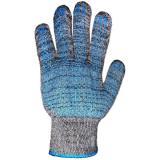 Перчатки утепл. Зима п/шерстяные 2 слоя + ПВХ черные (200)