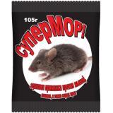 Средство против грызунов (зерно) СуперМОР 105гр (30)