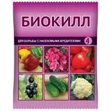 Средство от вредителей Биокилл для овощей, цветов, кустарников и деревьев 4мл (150)