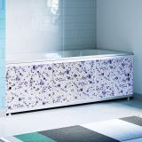 Экран для ванны 1,5м Оптима Decor мозаика жемчужная 1480х496х29 (4)
