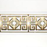 Бленда 68мм Амулет белый с золотом (60м)