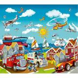 Детский городок Фотообои VIP 12л 294х260см (Тула)