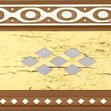 Бленда 70мм Ромб золото антик (25м)