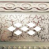 Бленда 70мм Ромб серебро элегант (25м)