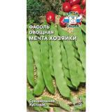 Фасоль (овощная) Мечта Хозяйки, 5г, без пергам.слоя,, среднеранняя (СеДеК) (10)