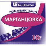 Перманганат калия (марганцовка), 10г (100)