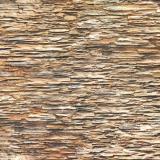 Панель стеновая ПВХ  Премиум камень плоский коричневый 0,947х0,648м (10)
