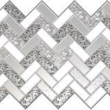 Панель стеновая ПВХ  Премиум розы в серебре 0,992х0,629м (10)