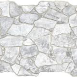 Панель стеновая ПВХ  Премиум камень дикий серый 0,984х0,633м (10)