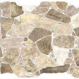 Панель стеновая ПВХ  Премиум камень дикий бежевый 0,984х0,633м (10)