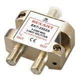 Делитель ТВ * 2 под F м 5-1000 МГц