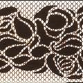 2-х рядные  потолочные (бленда Жаклин)